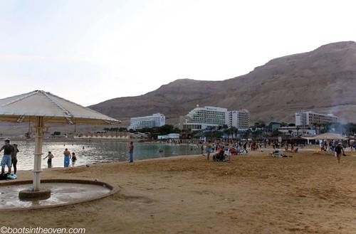 Beach at Ein Bokek