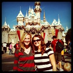 Jen & I at Disneyland