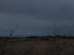 "Meteorological mast at ""La Mesa"" wind park"