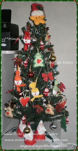 Então é NATAL... by ♥ Mimos de Feltro by Angela Mary® ♥