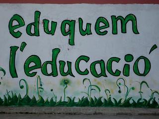 Eduquem l'educació