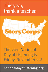 StoryCorps 2011 National Day of Listening