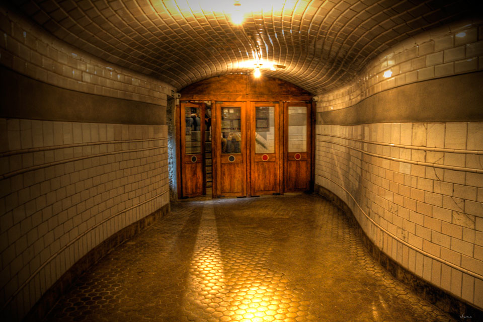 Antigua entrada Estación de Chamberí-Madrid