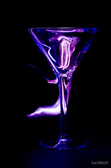 purple, violet, stemware, glass,