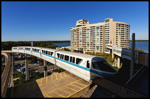Disney's Contemporary Resort - Monorail Monday