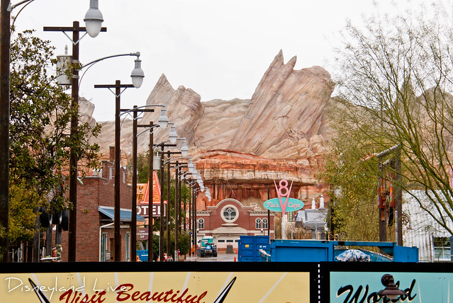 Cars Land Refurbishment - Route 66
