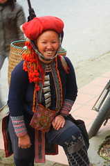Red Zhou Lady