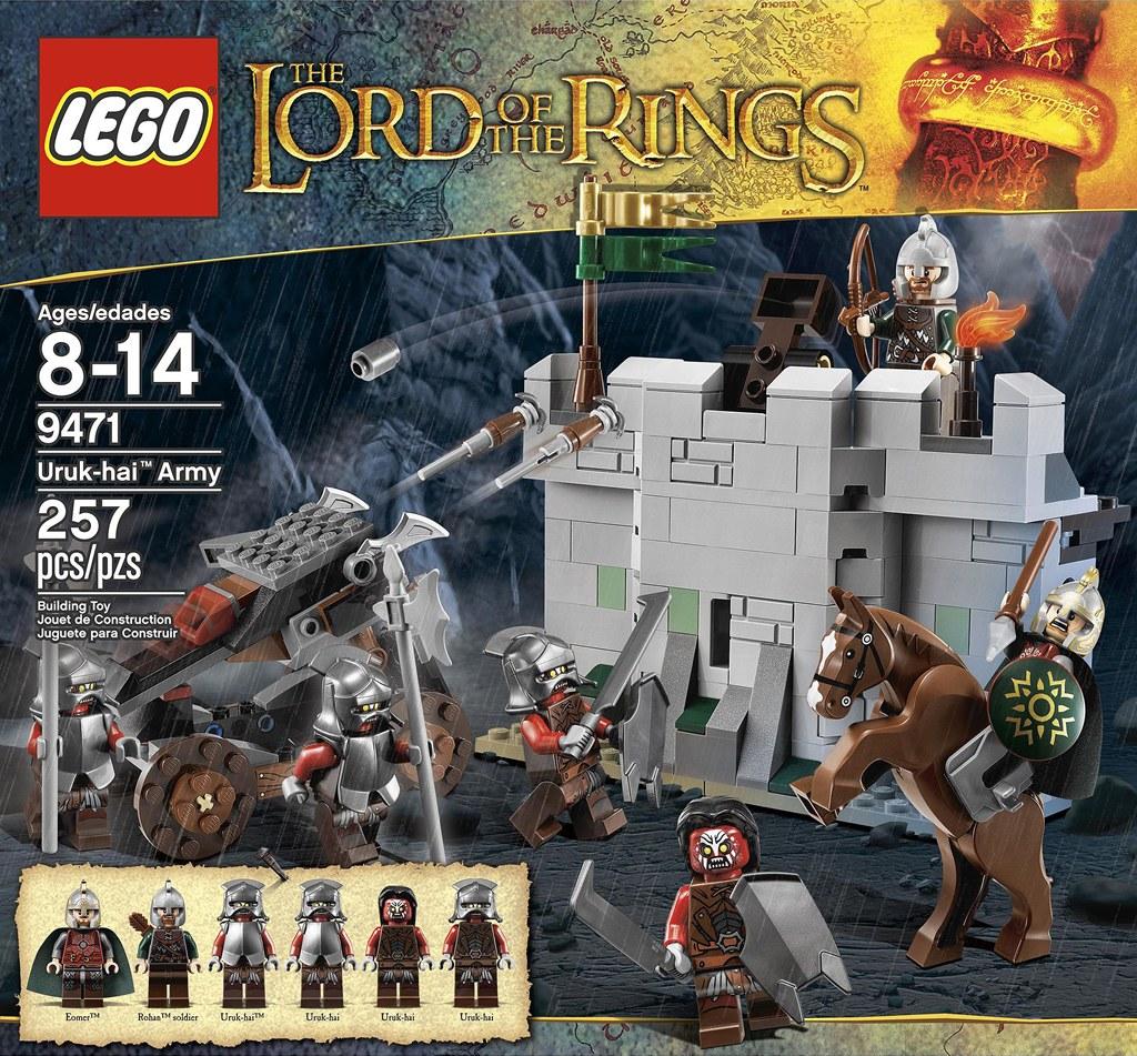 [Lego] Le Seigneur Des Anneaux revit avec le géant danois ! 6877664230_be087b34c2_b