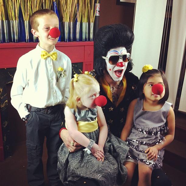 Clownvis & fans