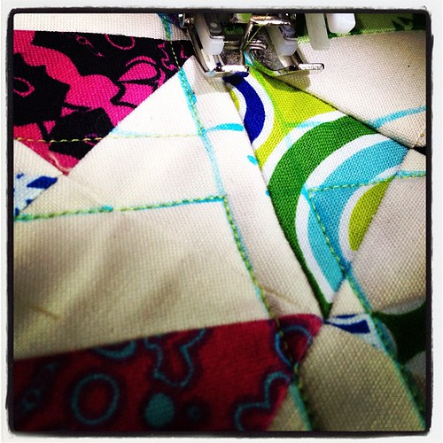 Quilting lines :)