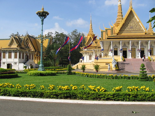 Part of the Royal Palace complex in Phnom Penh