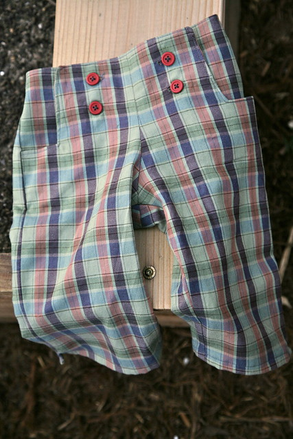 Plaid Sailboat Pants.