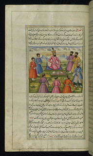 The lights of Canopus, An impoverished chamberlain of the king of Yemen steals a golden goblet, Walters Art Museum Ms. W.599, fol.148a