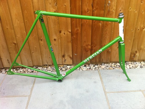 Mercian back from the painters ..