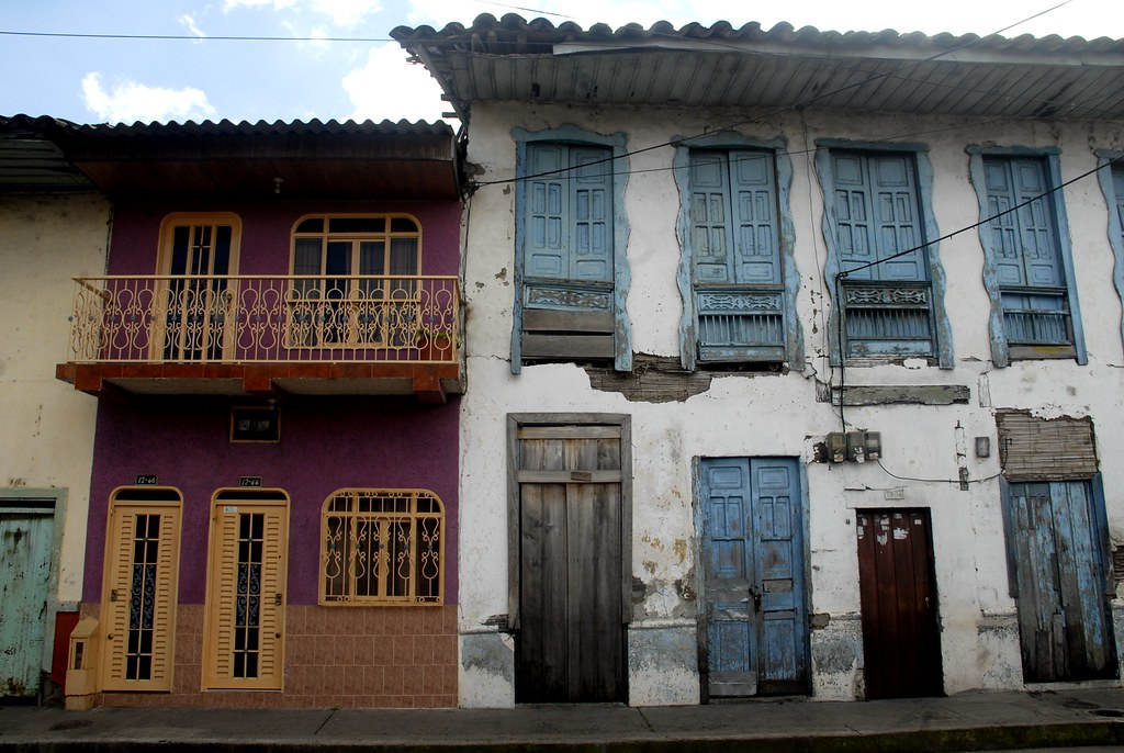 Imagen de unas Fachadas de casas en Montenegro, Quindio