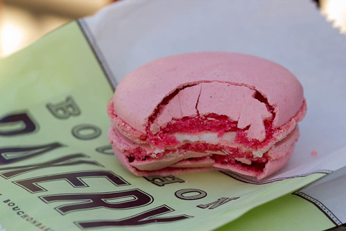 Raspberry Macaron from Bouchon Bakery