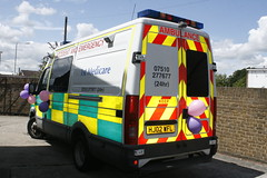 1st Medicare Iveco Daily by TheEssexTech