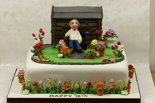 classy 20 garden design birthday cake design inspiration of best - Garden Design Birthday Cake