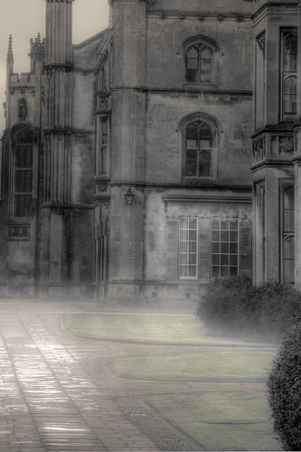 One Early Misty Morning - Kings College Cambridge
