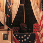 Fords Theatre - Presidential Box - from across the theatre -detail