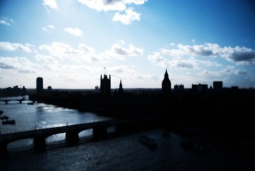 Westminster from London Eye