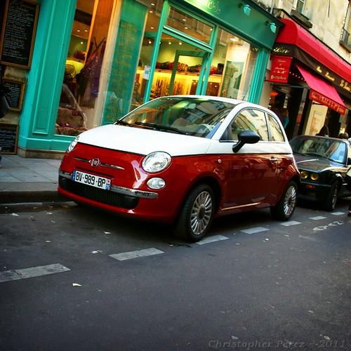 des voiture de Paris