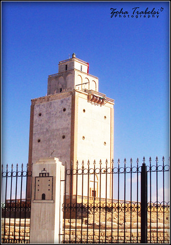Old Benghazi Lighthouse.