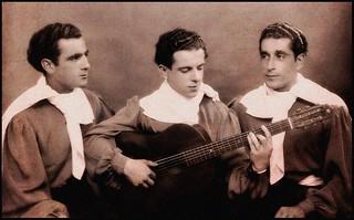 """""""Trio Argentino"""" Bordeaux 1943"""