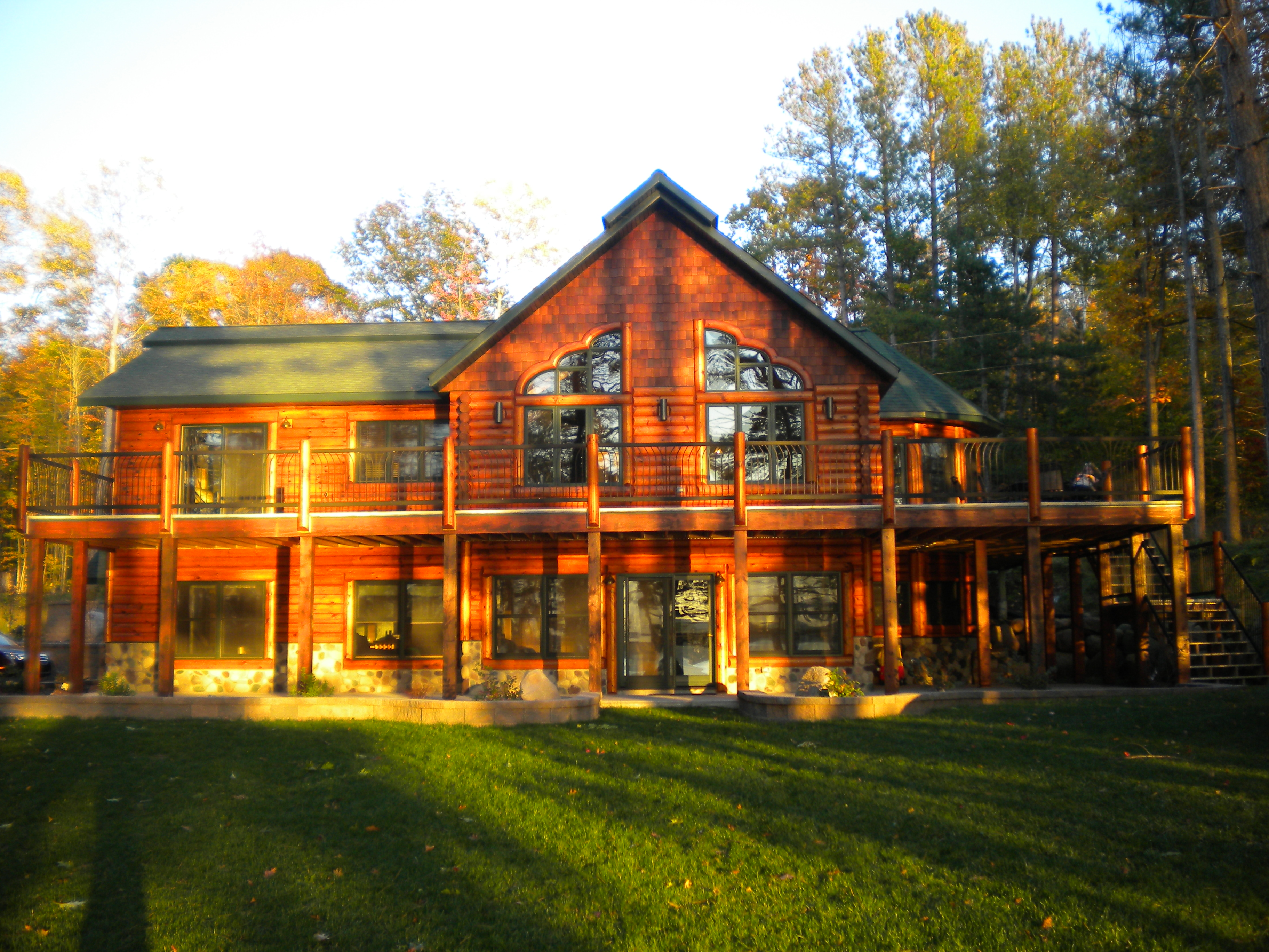 Marvelous photograph of saturday at the cabin mansion my aunt and uncle found a &q  with #C0900B color and 3648x2736 pixels