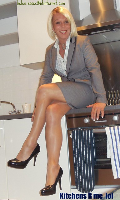 Usual Trademark.  business suit and Shiny Pantyhose hee hee xxx    If you add as a Fav please at least say why in a comment please.
