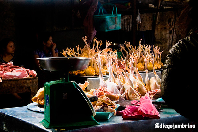 Mercado en Sapa, Vietnam