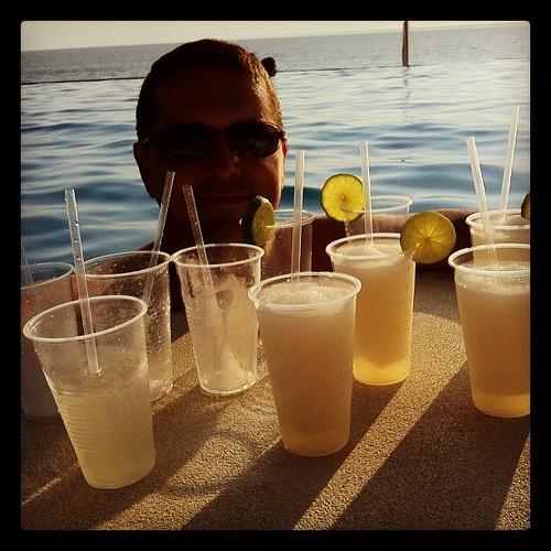 Infinite pool. Ocean. Mexico. Tequila.