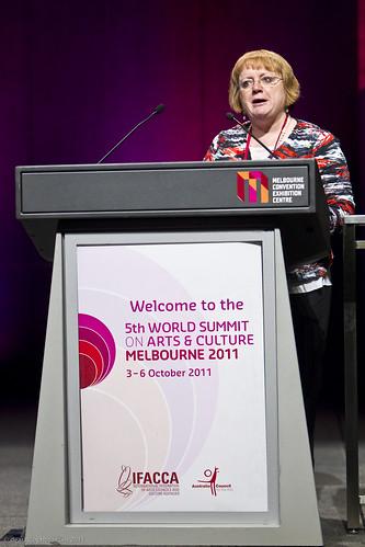 Penny Hutchinson, Director, Arts Victoria, Australia