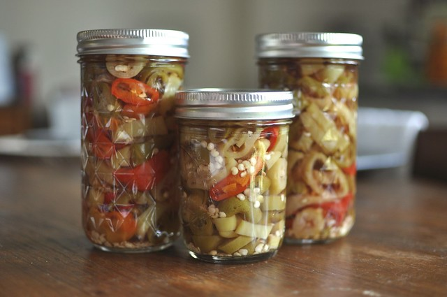 pickled hot pepper rings | Flickr - Photo Sharing!