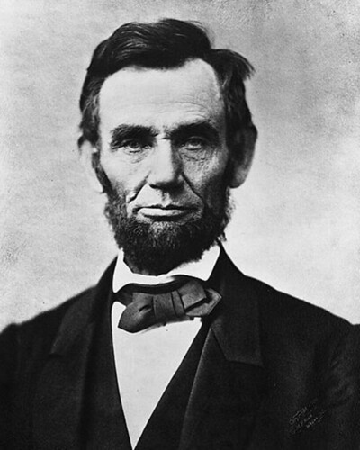 President Abraham Lincoln creator of the U.S. Department of Agriculture.