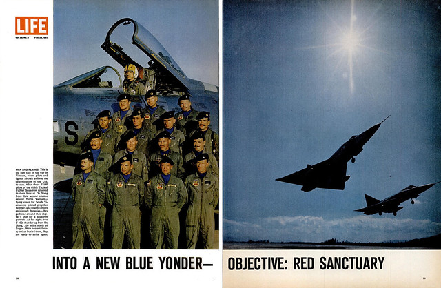 LIFE Magazine Feb 26, 1965 (2) - Into a new blue yonder - Objective: Red sanctuary