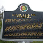 """Stars Fell on Alabama"" Historic Marker"