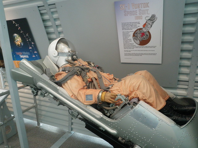 Mannequin at Seattle Museum of Flight