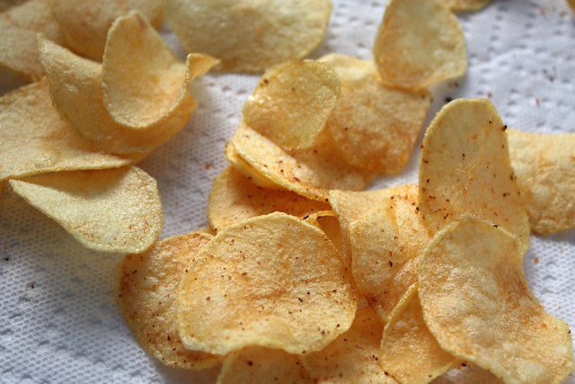 homemade potato chips | Flickr - Photo Sharing!