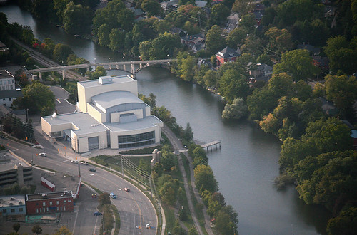 Wings Over Guelph: River Run Centre by peterkelly