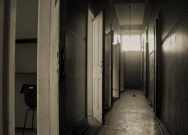 Rosslynlee Hospital Corridor