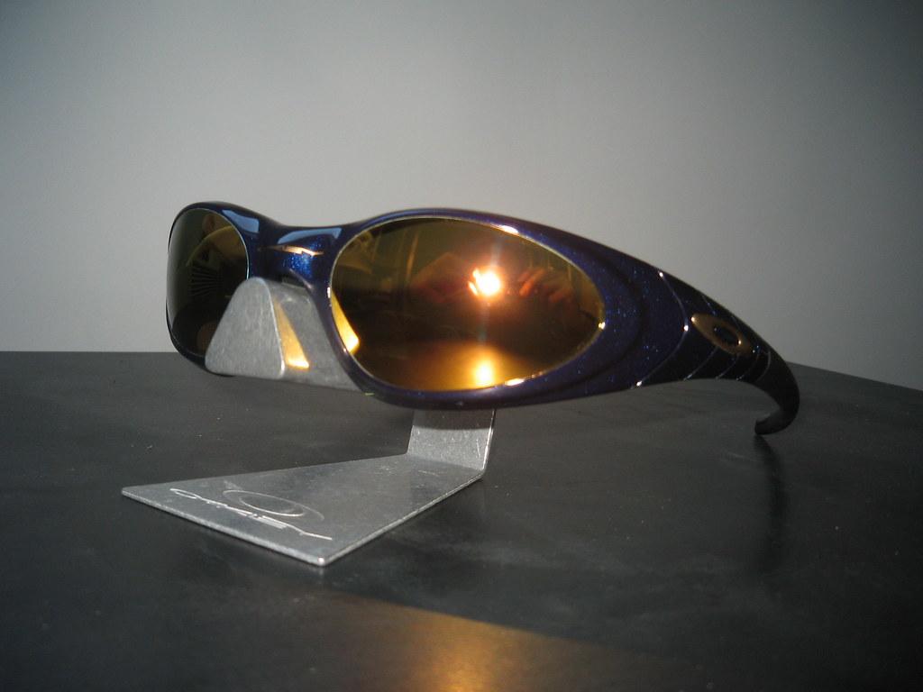 4b7bf3d487 ... Oakley Eye Jacket® 2.0 Midnight w 24K Gold Iridium