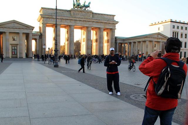 Porte de brandebourg brandenburger tor berlin allemagne for Porte de brandebourg