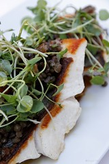 20111102-05-Crispy John Dory fillets with lentils…