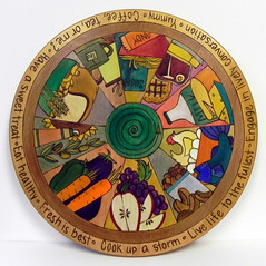 """Cook Up a Storm"" Lazy Susan at Smith Galleries"