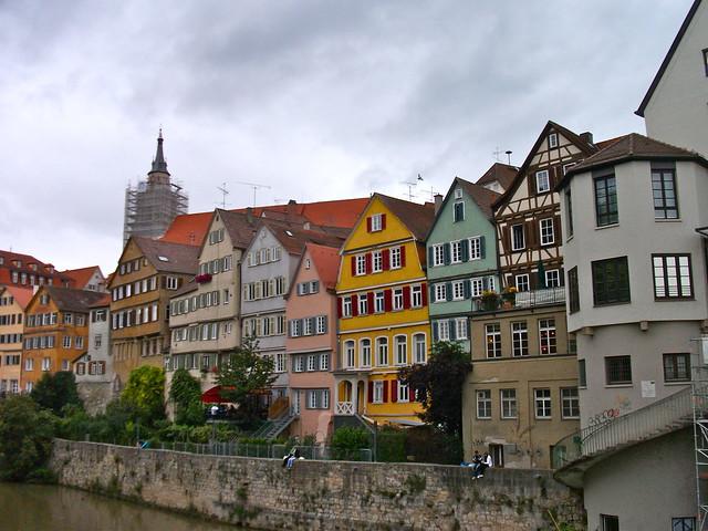 Tübingen on the Banks of the Neckar