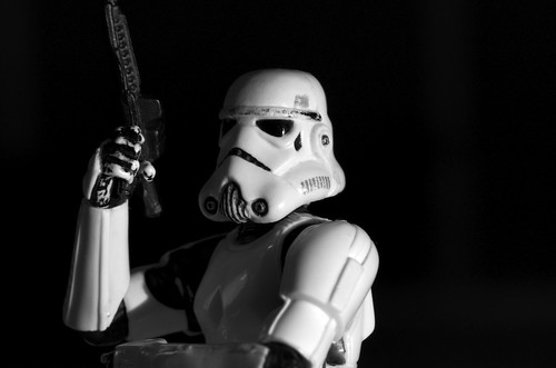 The trooper in noir style by Kalexanderson