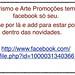 Facebook da Turismo e Arte Promoções by turismoeartepromoes