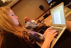 Ashley Zeckman liveblogging SES Chicago