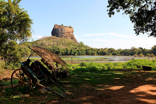 Sigiriya, Lion's Rock by photographer Hans Wessberg